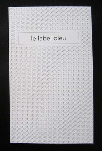 Le label bleu