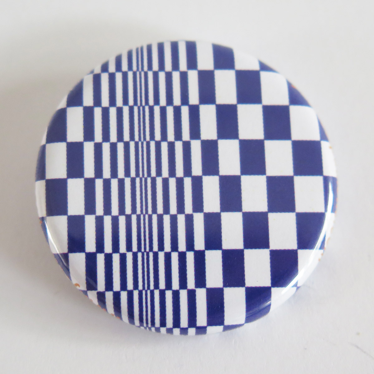 Inspiration Op' Art Bleu